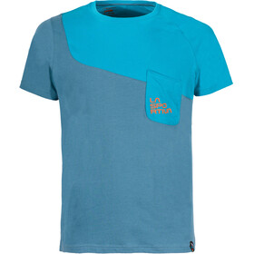 La Sportiva Climbique Shortsleeve Shirt Men blue